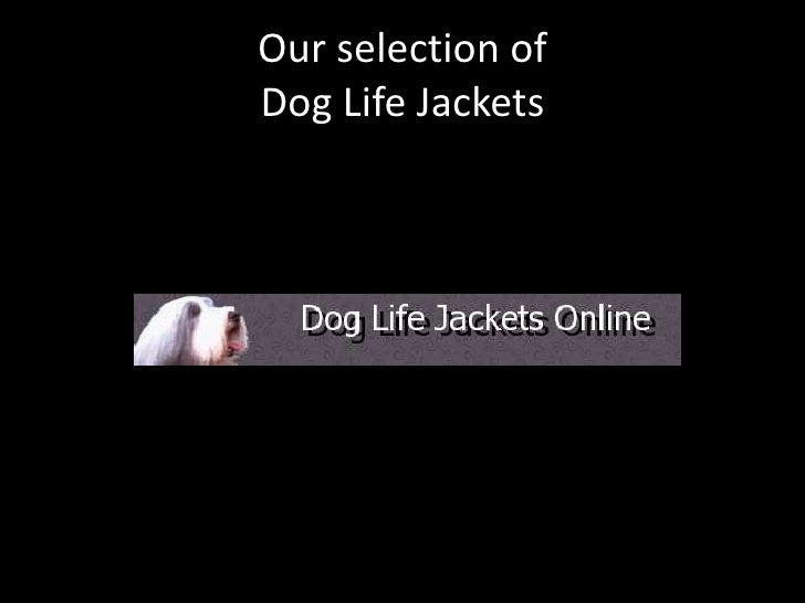Our selection ofDog Life Jackets<br />