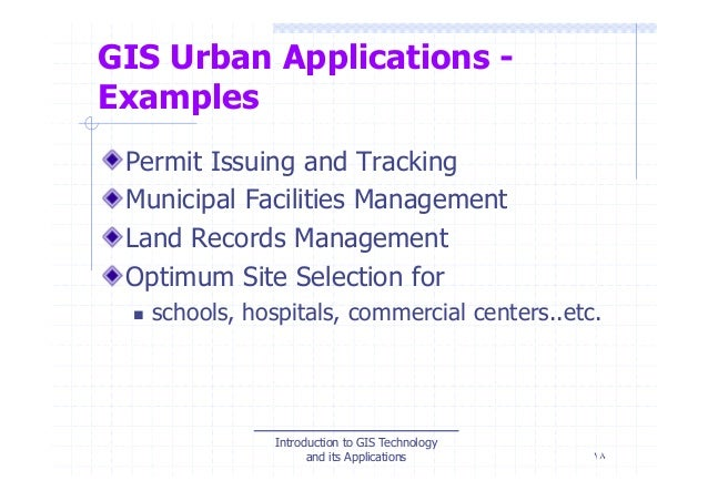 THE ROLE OF GEOSPATIAL TECHNOLOGY IN SOCIAL AMENITIES …