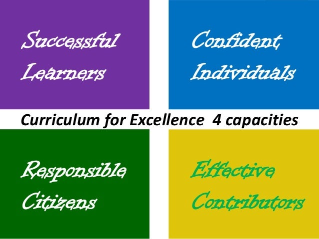 Curriculum for excellence four capacities pdf995