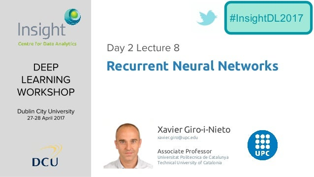Xavier Giro-i-Nieto xavier.giro@upc.edu Associate Professor Universitat Politecnica de Catalunya Technical University of C...
