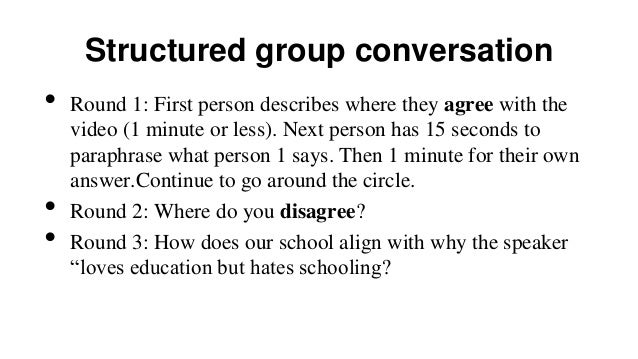 Report out  •  Questions and next steps o  •  o  In the same small groups, create a poster to share with the whole group. ...