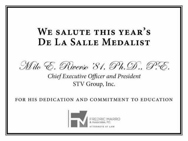 2014 De La Salle Dinner Digital Journal Ads