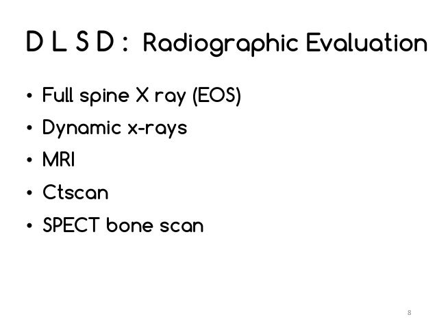 Degenerative Lumbar Spine Disease