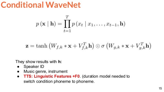 Speech Synthesis: WaveNet (D4L3 Deep Learning for Speech and Language…