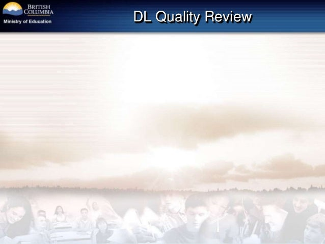 DL Quality Review