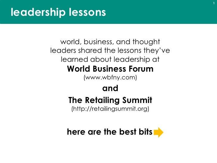 DLYohn Leadership Lessons