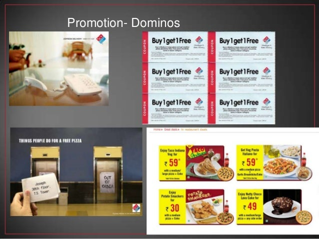 marketing mix dominos pizza