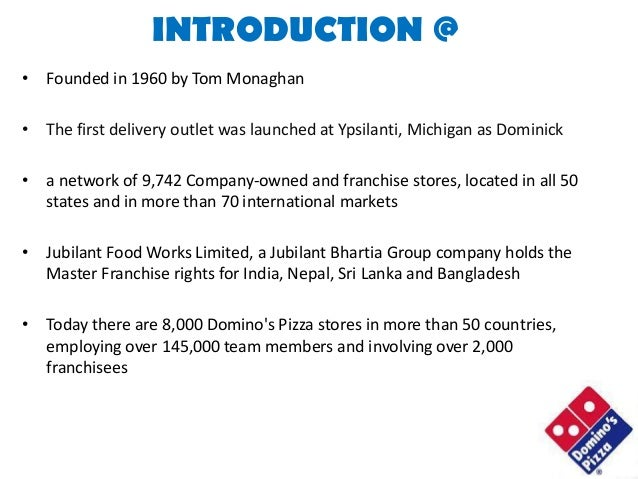 Introduction for dominos