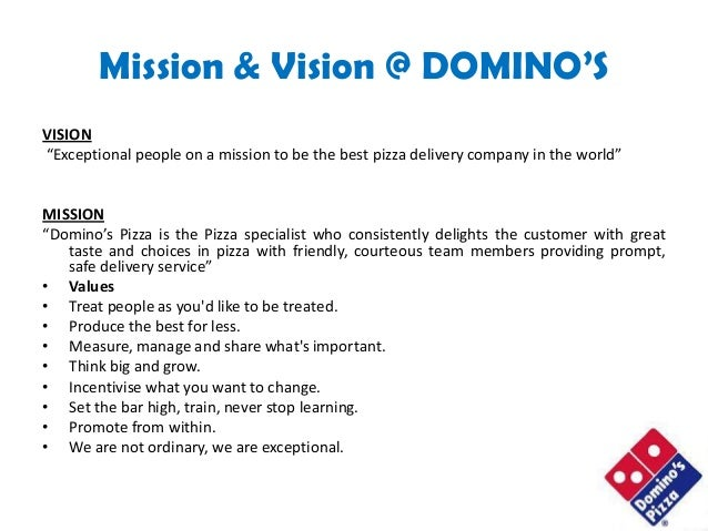 Food Delivery Service Mission Statement