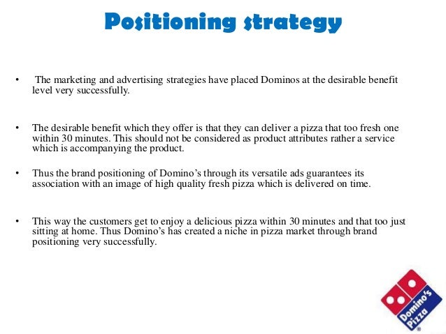 Domino advertising and media strategy