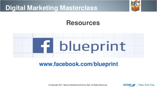 Digital marketing master class session 6 a 63 facebookblueprint malvernweather Images