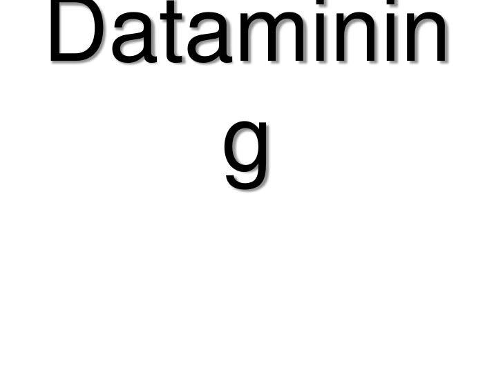 Introduction au datamining, concepts et techniques