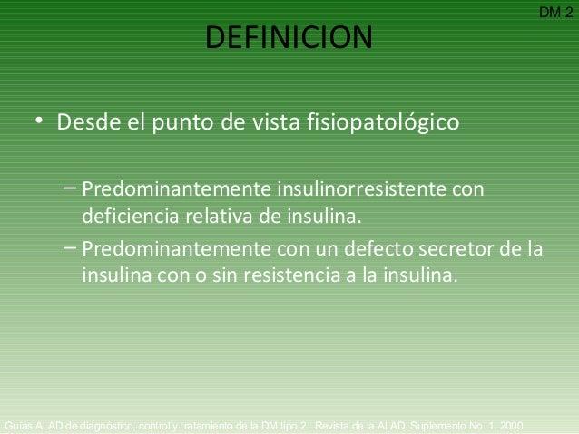 Diabetes Mellitus tipo 1 y 2