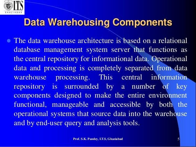Data Warehousing & Basic Architectural Framework