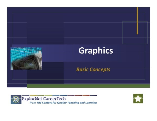 GraphicsGraphics B i C tBasic Concepts
