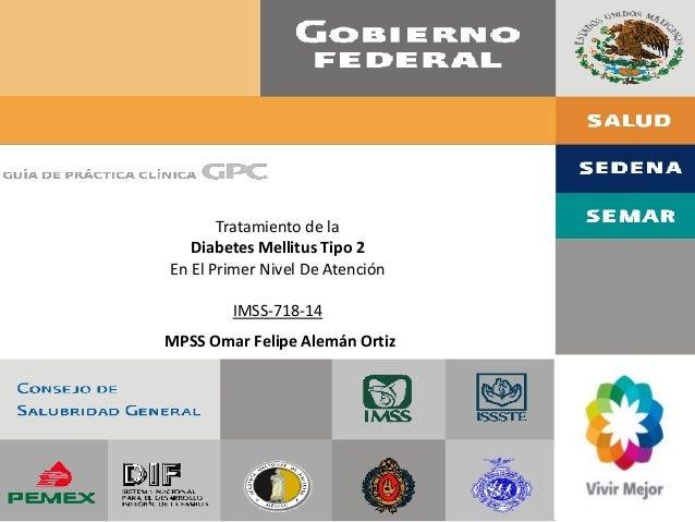 GPC Diebetes Mellitus tipo 2
