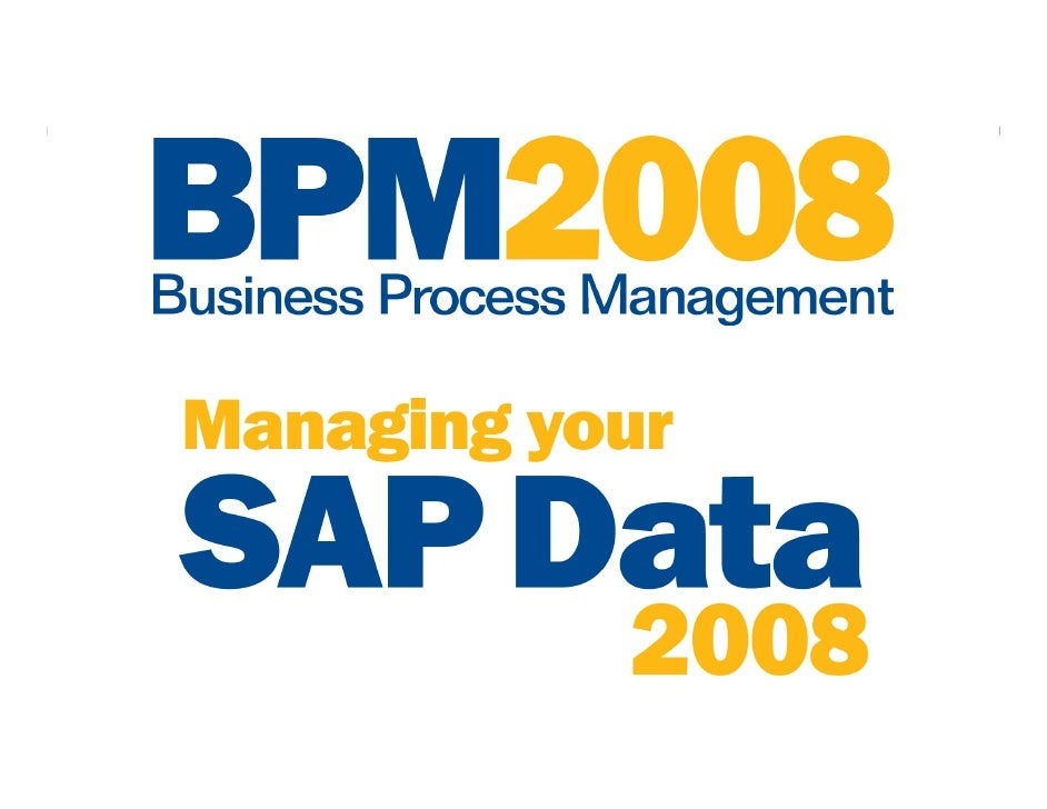 3 Keys to SuccessfulMaster Data Management:Process, Governance,and ArchitectureJames ChiGROM Associates          © 2008 We...
