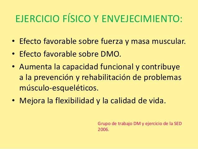 Diabetes mellitus tipo 2 y ejercicio físico.