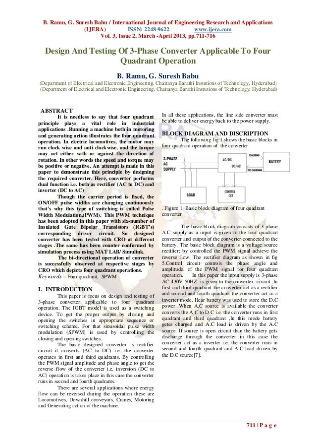 B. Ramu, G. Suresh Babu / International Journal of Engineering Research and Applications                 (IJERA)          ...