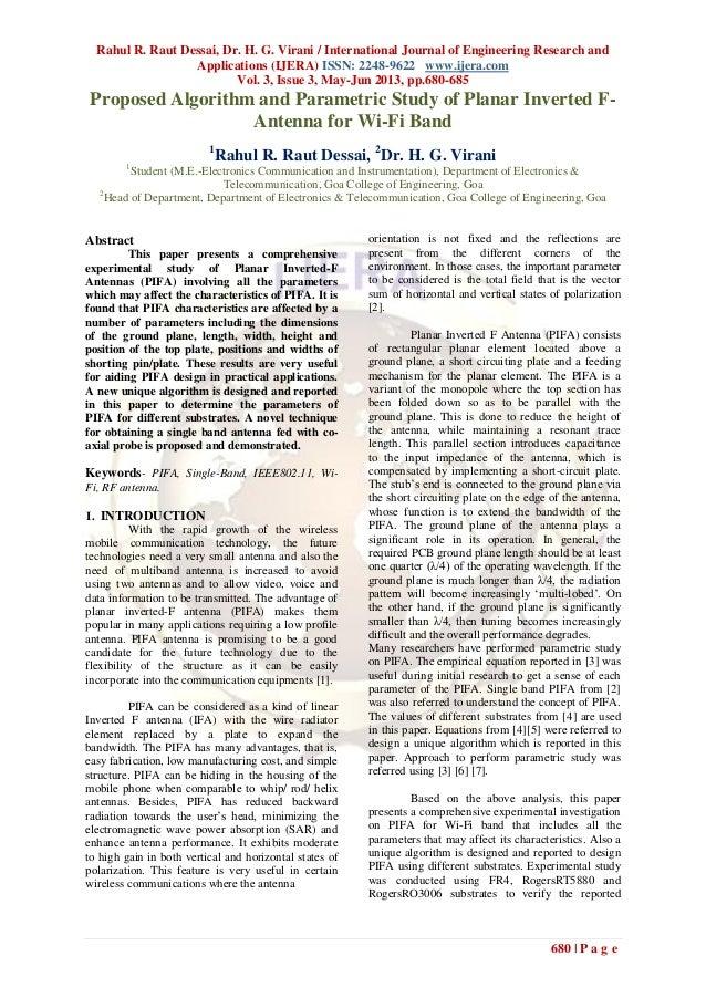 Rahul R. Raut Dessai, Dr. H. G. Virani / International Journal of Engineering Research andApplications (IJERA) ISSN: 2248-...