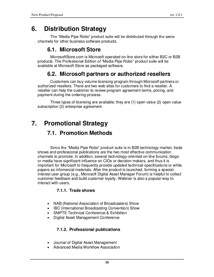 New Product Proposal On Digital Asset Management For Microsoft