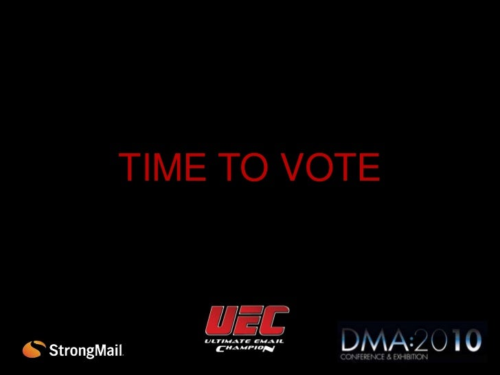 StrongMail Ultimate Email Marketing Champion | DMA10