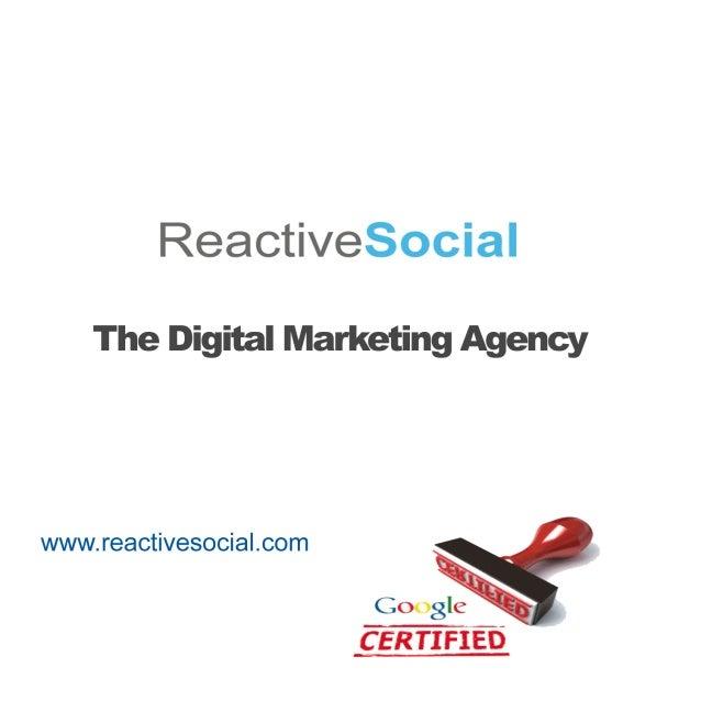 Digital Marketing Audit Brief