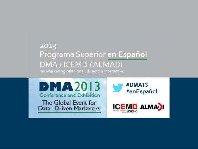 #DMA13 #enEspañol