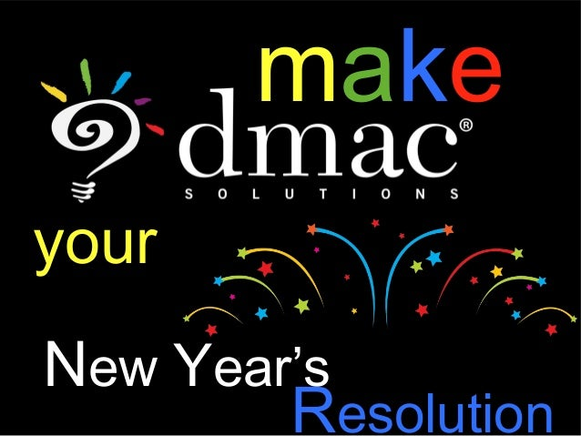 makeyourNew Year's        Resolution