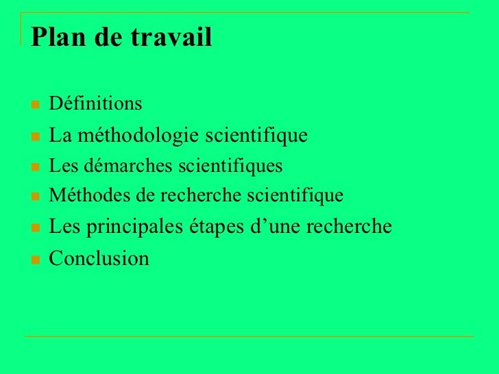 Démarche de la recherche scientifique Slide 2