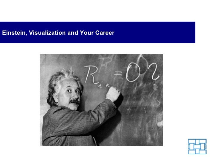 Einstein, Visualization and Your Career