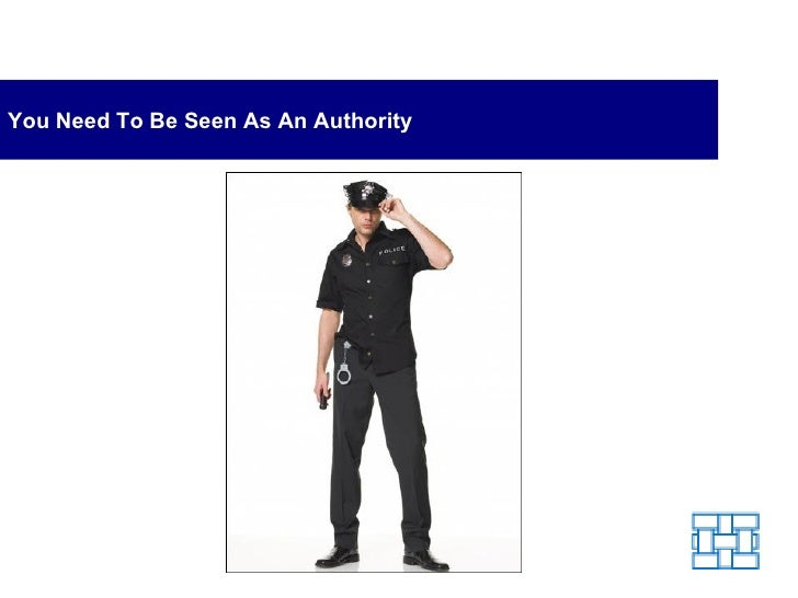 You Need To Be Seen As An Authority