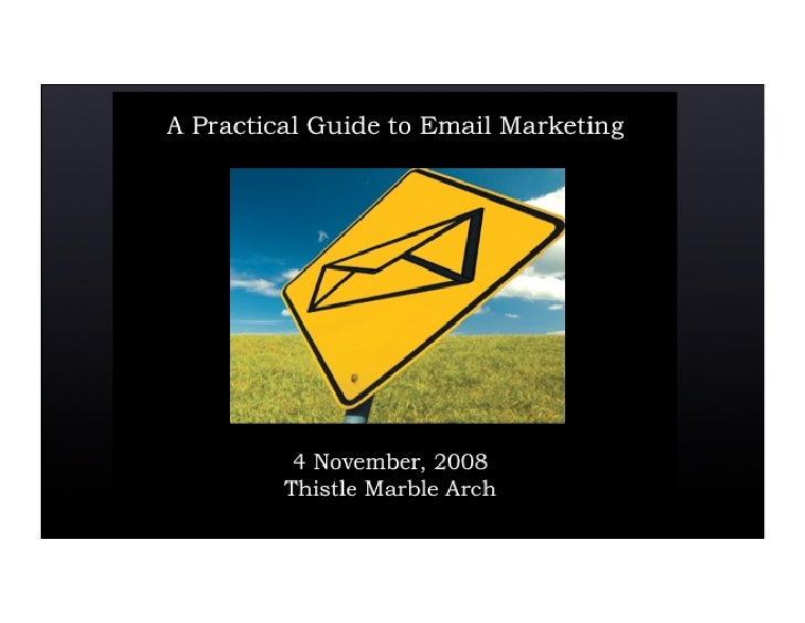So you think you know how to effectively utilize email? 2008
