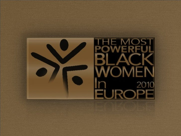 Black Women in Europe: Power List 2010