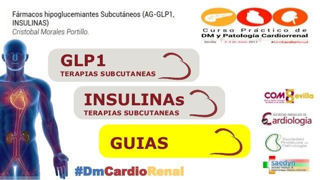 Terapias subcutáneas en la Diabetes (GLP1-Insulinas)