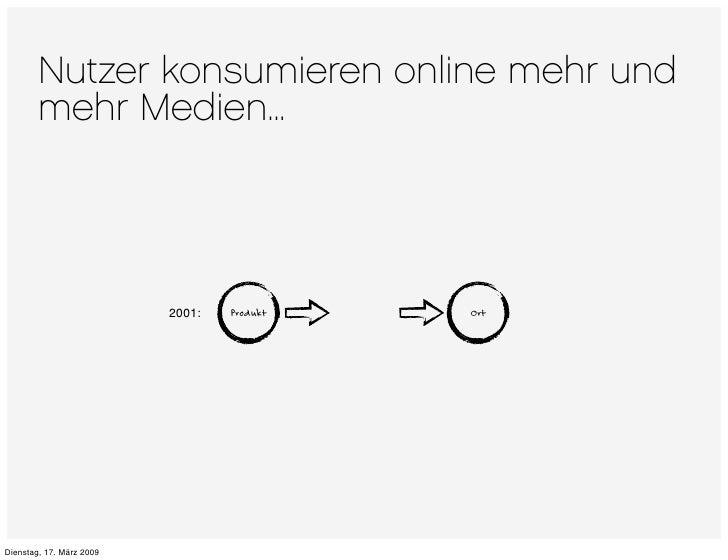 Nutzer konsumieren online mehr und         mehr Medien...                                       Produkt   Ort             ...