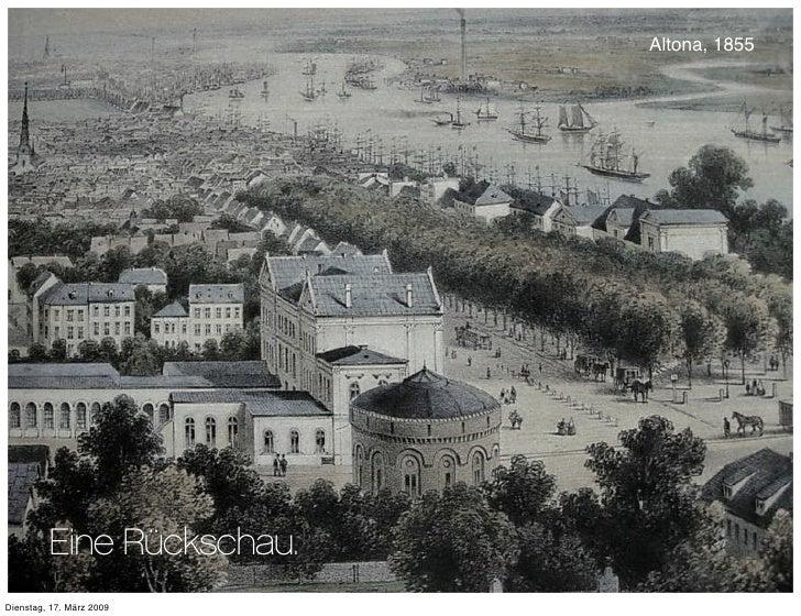 Altona, 1855              Eine Rückschau. Dienstag, 17. März 2009
