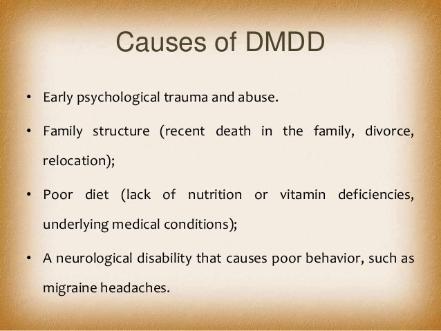 Disruptive Mood Dysregulation Disorder Treatment Dmdd disruptive mood d...