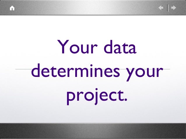 Every project has data. Text objects, images, tags, geographical coordinates, categories, records, creator metadata, etc.