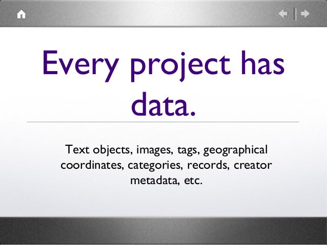 Even if you're not planning to learn any programming skills, you are still working with data.