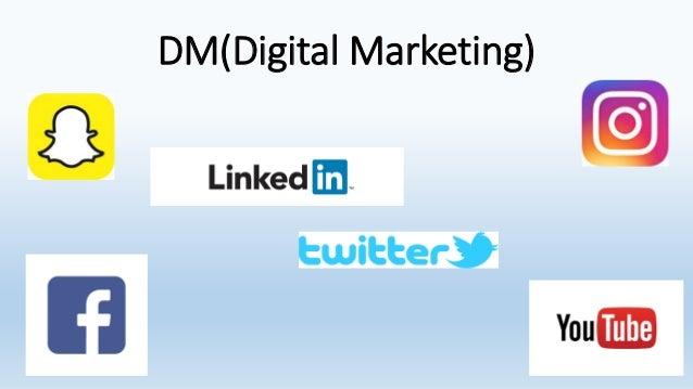 DM(Digital Marketing)