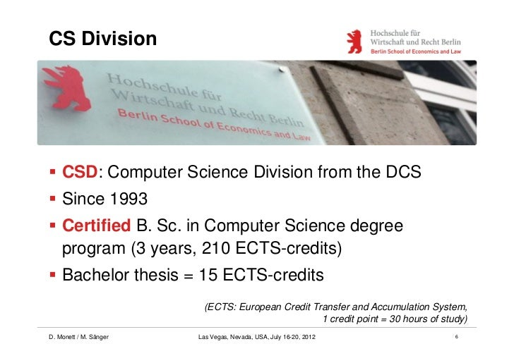Thesis topic computer science
