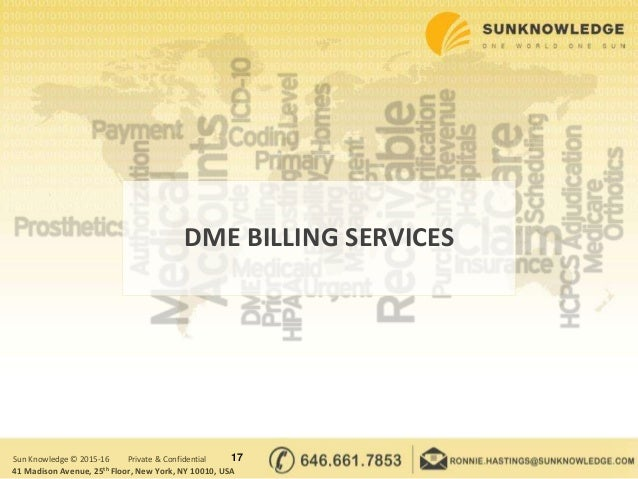 Complete Durable Medical Equipment (DME) Billing Guide | Sun