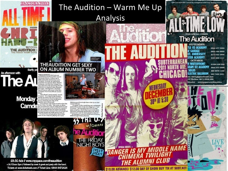 Warm Me Up The Audition – Warm Me Up Analysis