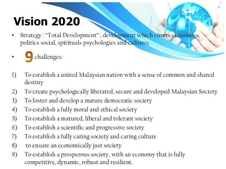 objective vision 2020 malaysia