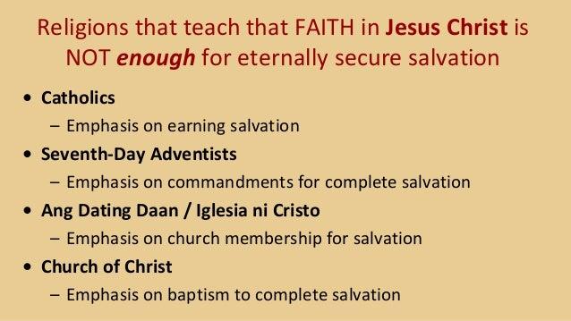 Dating daan baptism