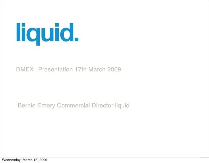 Dmex Presentation Brand You