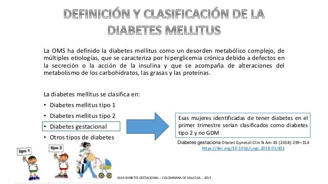 La OMS ha definido la diabetes mellitus como un desorden metabólico complejo, de múltiples etiologías, que se caracteriza ...