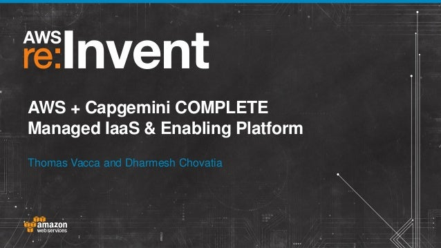Lessons Learned On Capgemini S Complete Managed Services