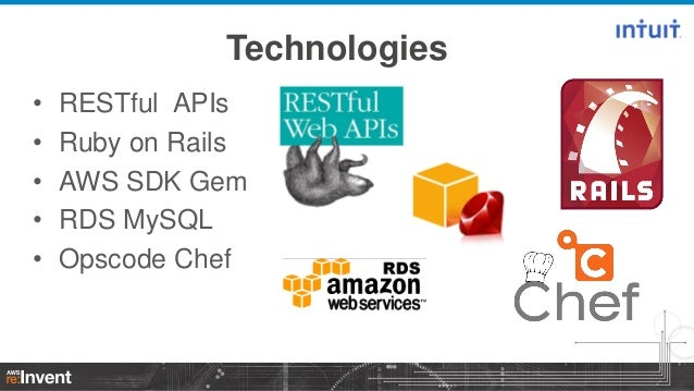 How Intuit Leveraged Aws Opsworks As The Engine Of Our